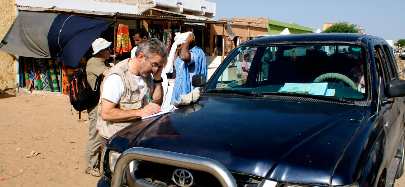Le Sothiou Mission Mauritanie juin 2007