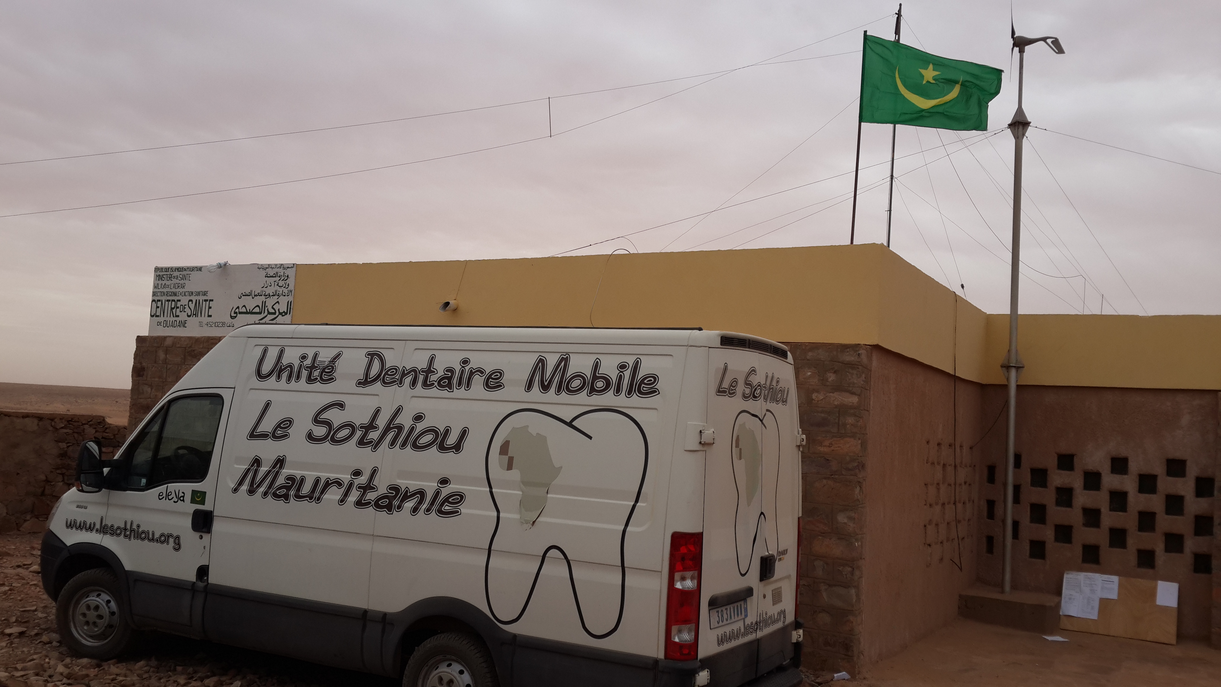 Camion dentaire le Sothiou
