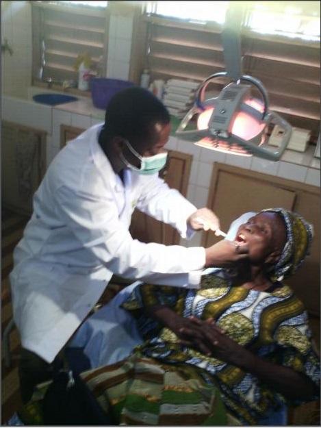 dentiste et sa patiente