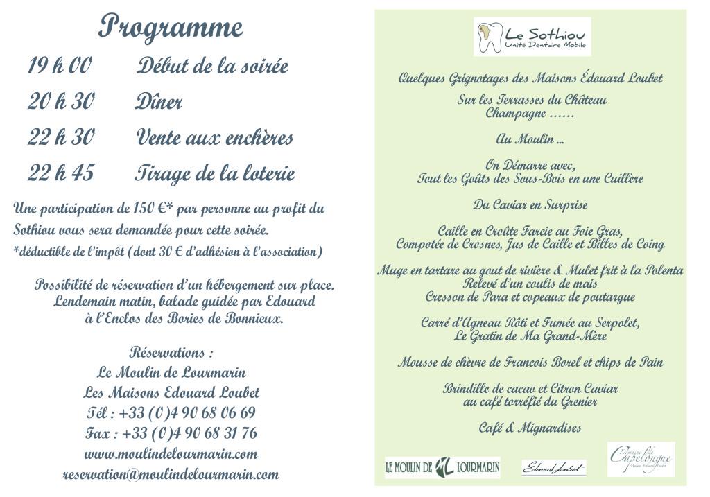 Verso Invitation - 2ème partie