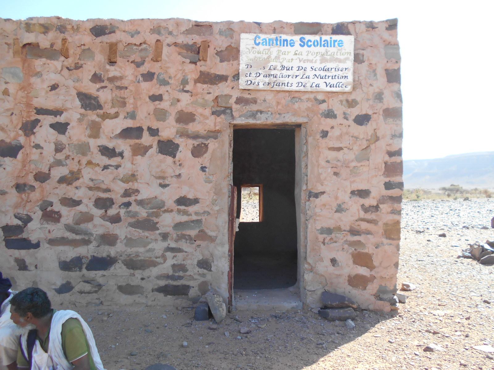 cantine désert mauritanie